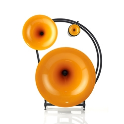 The Avantgarde Trio Classico provide incredible sounds with thier three horn drivers and four subwoofers. They also look stunning and come in a range of colors.