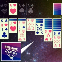 AWESOME SOLITARE! App for iPhone... the video is... WTF... but amusingly fun!