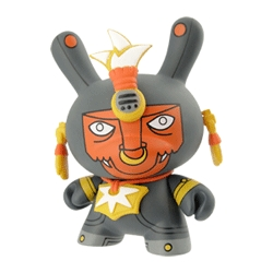 dont miss the kidrobots new dunny azteca series , the launch parties are on january 18. featuring mexican artists as:  the beast brothers, hula hula, Artemio and many more