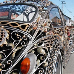 Metalworks VW Bug. I'm just speachless.