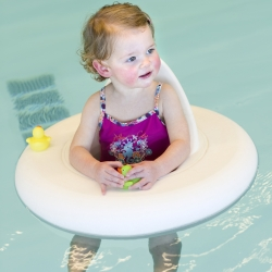 Jorn Behage launched the BabyDobber in the European market. This is a floating device for children. The BabyDobber was tested by TÜV and fulfill all European safety requirements.