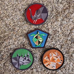 Cub Cubs 'Save The Critters' Badge Pack!