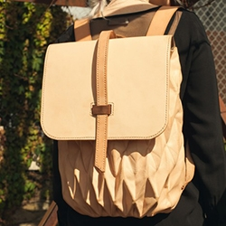 Steven Enns Transfold Leather Backpack