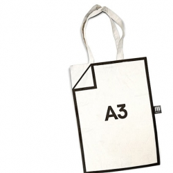 A3 bag from Russian designer Tim Pokrichuk.