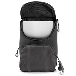 "Timbuk2 launches a new ballistic nylon case just for 10"" (and under) little netbooks and ebook readers... works as both bag or sleeve (with power pouch!)"
