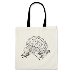 For jumping brain lovers - Jumping Brain Tote Bag!
