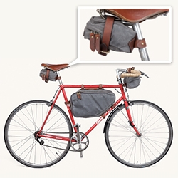 Tanner Goods Bicycle Collection - Saddle, Frame, and Handlebar Bags