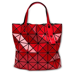 "BAO BAO ISSEY MIYAKE is a line of bags and pouches with the theme of ""shapes made by chance."" Made of triangles placed on mesh fabric, launched in 2000, here are some of the freshly launched styles."