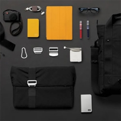 Blue Lounge does BAGS! Here's their new Bonobo series of laptop sleeves, messengers, rolltops, an awesome extension of their hyperfunctional/minimalist tech/lifestyle accessories!