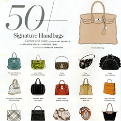 50 Signature Handbags ~ ILLUSTRATED! By Jameson Simpson for LA Times Magazine