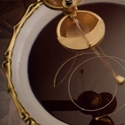 Liquid Alchemy — The Art of Baileys Chocolat Luxe - Beautifully complex luxurious rube goldberg machine of sorts...