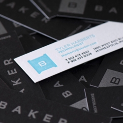 The new BAKER identity: branding a culture of creative individuals.