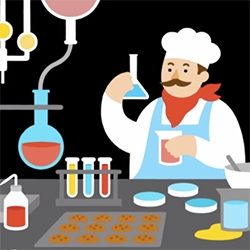 Bakers are mad scientists! The Chemistry of COOKIES - Stephanie Warren.