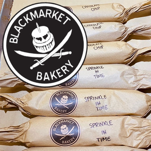 Blackmarket Bakery (a NOTCOT socal favorite!) is sharing their recipes as we're all stuck at home! First up are their Buttermilk Scones and Choc Oatmeal Cookies! [Also, locals can pick up cookie dough rolls to bake at home now!]