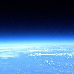 """Canadian Tony Rafaat spent $470 building a """"space balloon"""" that allowed him to take the amazing pic above. NASA should feel ashamed."""