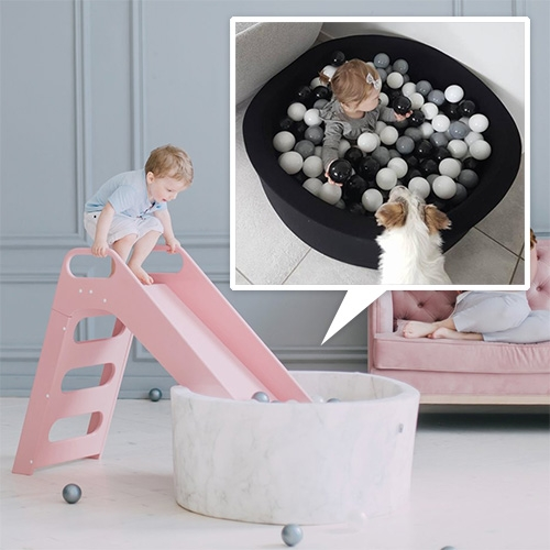 MISSIOO Luxury Ball Pits for kids... with optional slide!
