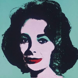 On impressive ROI - hugh grant bought the warhol liz taylor 6 years ago for $3.5 mill... and is to be sold again, this time by Christie's in New York in November, with an estimate of $25 million to $35 million
