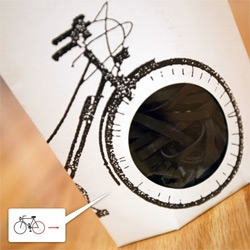 Plattfuss - recycled bicycle inner tubes turned into rubber bands!