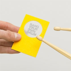 The Consult's clever stationery design for communications company Bang Your Own Drum.