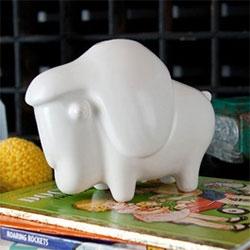 Kooroo ceramic buffalo bank! Limited edition 450.