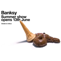 Banksy Summer Show opens 13th June
