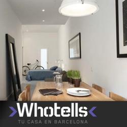 Whotells ~ Barceloneta, Raval, Eixamle ~ three spots in Barcelona, super affordable apartment rentals furnished by Muji!