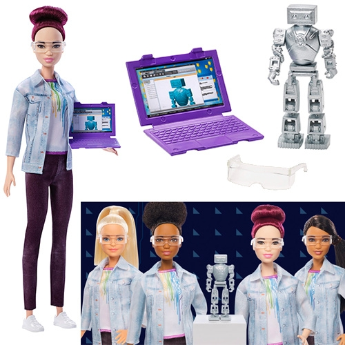Barbie's Career of the Year 2018 is Robotics Engineer