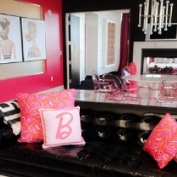 The Barbie Suite was unveiled this week at the Palms Resort in Las Vegas as part of the continuing celebration of the doll's 50th birthday
