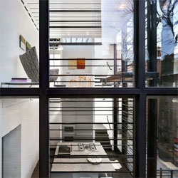 Barcode house by David Jameson Architect in Washington D.C.