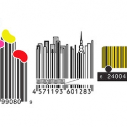 Is this Art?  Barcodes enter expressionist period. Some proposed barcode designs, cute, clever, and definitely to get out attention, as seen in the wallstreet journal.