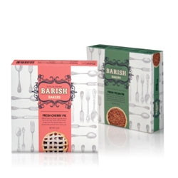 Allison Braunstein's branding project for Barish Bakers.