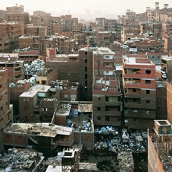 Dutch photographer Bas Princen also trained as an architect, with a focus on architectural photography.  Giant construction sites and apparently absurd human artifacts describe the oddity of human 'civilizations'