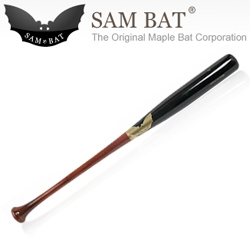 Sam Bat's are some of the most beautiful bats used by MLB players. Made in Canada of maple instead of the usual ash.