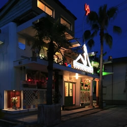 """The Naoshima Public Bath """"""""I♥Yu"""" is a sensational kitsch public art space set in a traditional Japanese public bathhouse (sentō) with a flamboyant exterior and truly surreal art space within."""