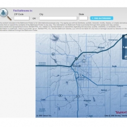 a bathroom locator on the Imodium website. Nice map and pretty useful!