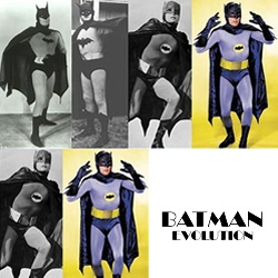 Since the debut of Batman on screen in 1943, the Caped Crusader has gone through transformation after transformation, costume change after costume change, some more subtle than others.