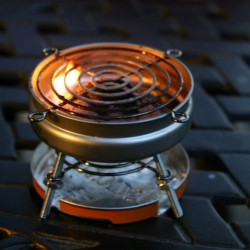 This mini BBQ grill made from Altoids tins is curiously awesome!