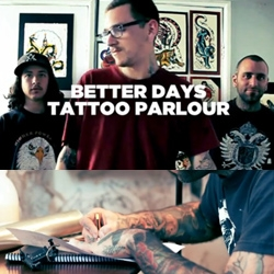 Better Days Tattoo Parlour was established in 2009 in the fine arts district of Santiago, Chile. BDT introduces us to their artists and gives us a look inside their studio. The owner, Nico Acosta, also shares why he loves being a tattooist.
