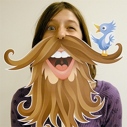 Print it yourself twitter beards! Too funny...