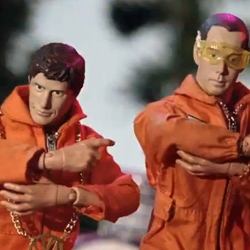 "The new Spike Jonze music video for ""Don't Play No Game That I Can't Win,"" by the Beastie Boys' feat. Santigold from Hot Sauce Committee Part 2 is a zombie and action figure filled hilarious 11 minutes."