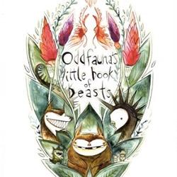 oddFAUNA's little book of beasts - help kickstart this beautiful art-book by Emma SanCartier.