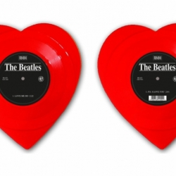 The Beatles' debut single, Love Me Do, is more than 50 years old. To commemorate the event, Mischief Music is issuing a limited-edition red heart-shaped twelve-inch vinyl edition of the single.