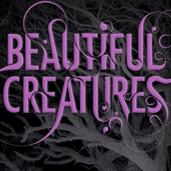 "Si Scott's one-of-a-kind hand lettering is spotted on a new book cover ""Beautiful Creatures."" Can't wait to see this one in person..."
