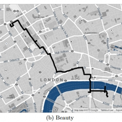 Forget the Shortest Route Across a City; New Algorithm Finds the Most Beautiful! Interesting research coming from Yahoo.