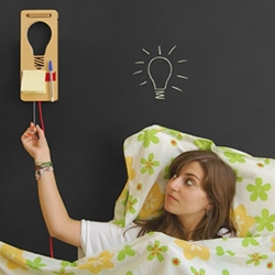 Bed Ideas, the bedroom lamp by the Portuguese studio Apicula.