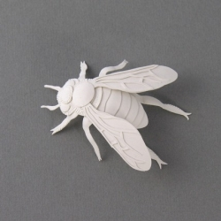 "Cool &  elegant paper bee by ""Elsita"". Featured on Etsy."