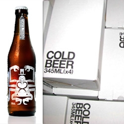 Taboo ~ interesting branding of Nelson's Beer ~ check out the car and hang tag too...