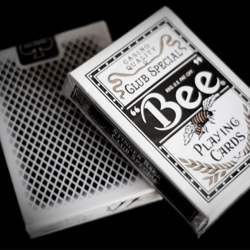 Stinger borders were originally developed as a countermeasure against card cheating. Historically reserved only for the world's finest casinos, the Bee® Stinger playing cards are now available on the finest Aristocrat stock.