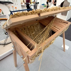 Tom Back's Thrive Hive and Ben Fursdon's High Rise Wormery bring bees and worms to urban balcony gardeners! Great pieces featured at New Designers.