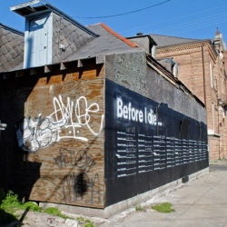 Before I Die…in Nola is an interesting project belonging to public installation artist and urban planner Candy Chang.